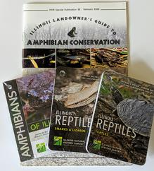 IL Landowners Guide to Conservation and 3 pack Amphibian-Turtle-Snake cards