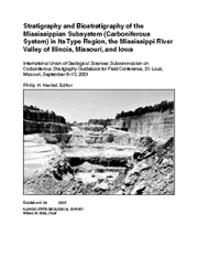Guidebook 34: Stratigraphy and Biostratigraphy of the Mississippian Subsystem (Carboniferous System) in Its Type Region, the Mi