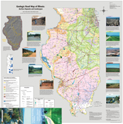Geologic Road Map of Illinois: Surface Deposits and Landscapes