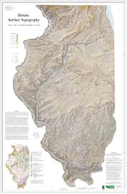 Illinois Surface Topography
