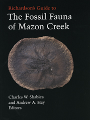 Richardsons Guide to Mazon Creek Fossils cover